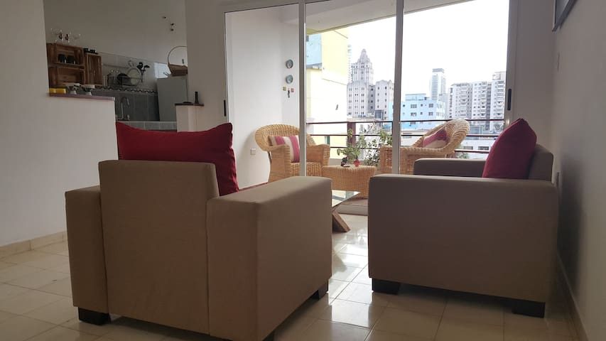 Great view apartment in the city center
