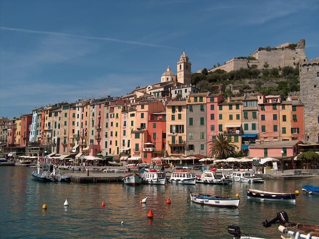 appartam. panoramico a Portovenere - La Spezia - Appartement