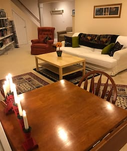 Quiet 2 bed room apt w/ private entrance. - 글라스턴베리
