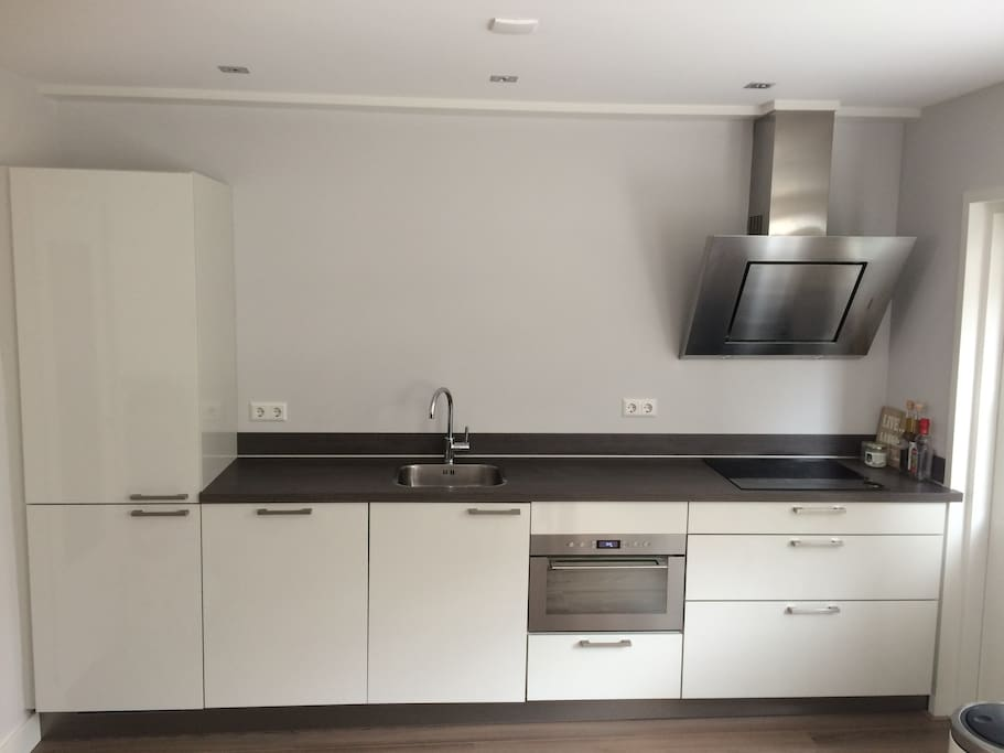 Kitchen with induction