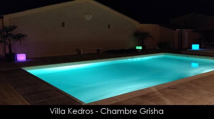 Chambre avec SPA et piscine aux portes de Dijon