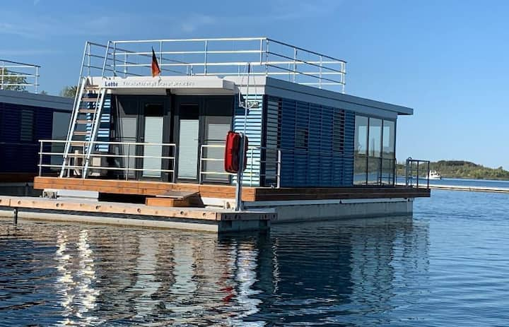 WELL Hausboote Leipzig Braunsbedra (Lotte)