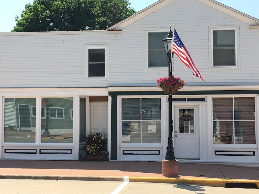 Bennet Building and Shullsburg Chiropractic
