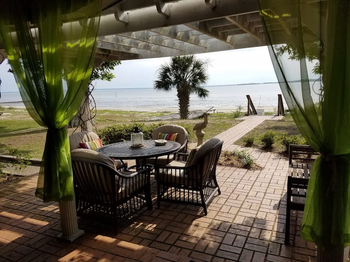 Beach Front Home on St Helena Island Beaufort SC