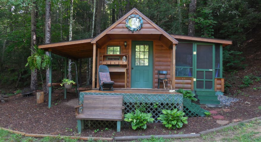 The Cove Camping Cottage - Hendersonville - Cabin