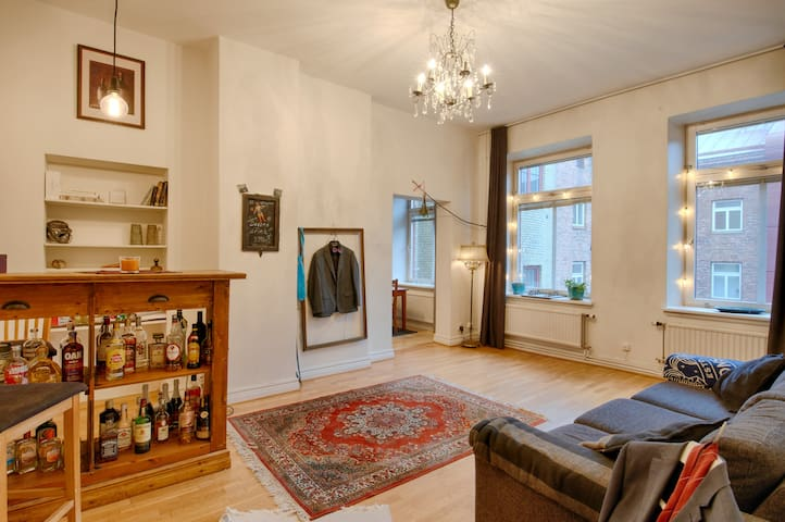 Cozy flat in the heart of the city - Göteborg - Appartement