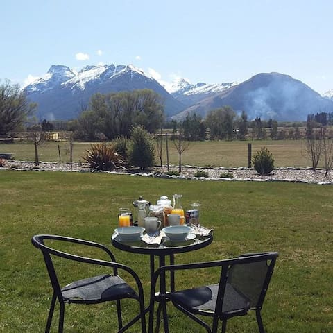 Super King Ensuite Glenorchy Peaks - Glenorchy - Pousada