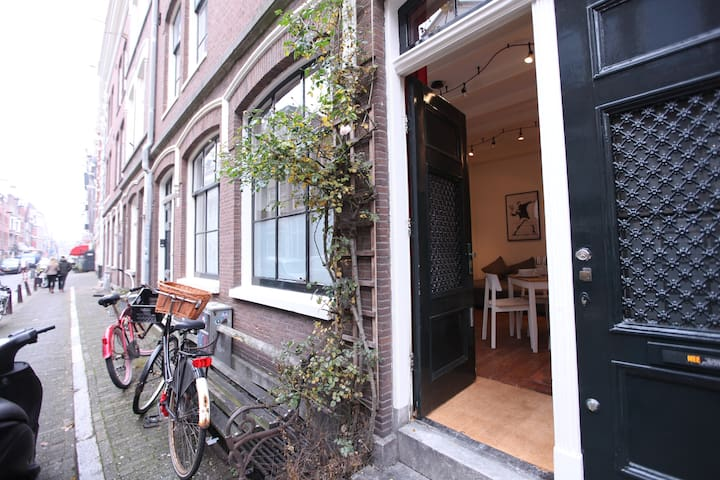 Historic canal district recidence - Ámsterdam - Bed & Breakfast