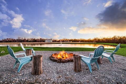 Winter on the Ranch | Come Sit By The Fireplace