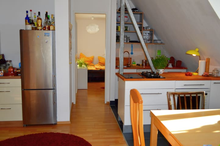 Room in Maisonette Flat, Old Town - Nuremberg - Leilighet