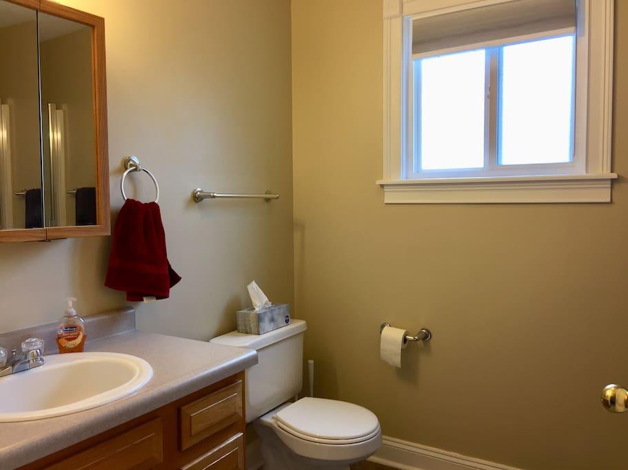 Recently remodeled Master bath! (picture 2)