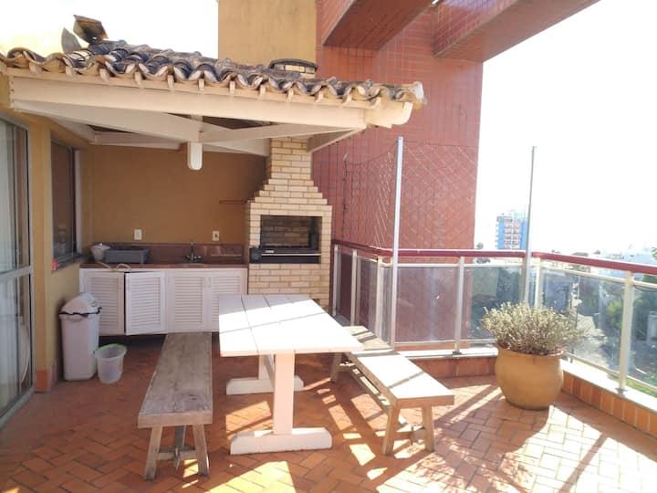 Cobertura Duplex Centro 3Q Churrasqueira Banheira