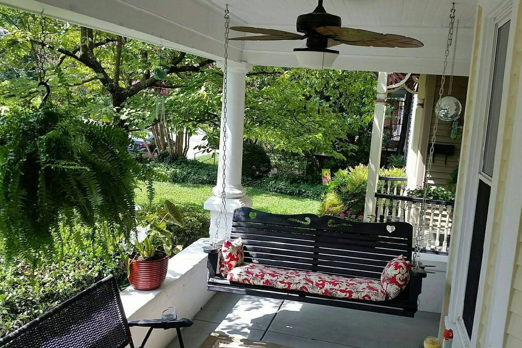 Relax on our most inviting front porch
