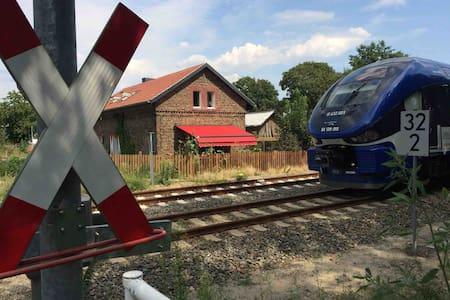 Bahnwärterhaus in Rehfelde  Märkisch-Oderland
