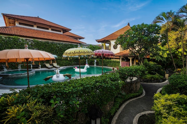 Deluxe Double/Twin Room Only @Royal Tunjung Bali