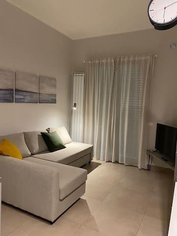 Zona relax con divano letto