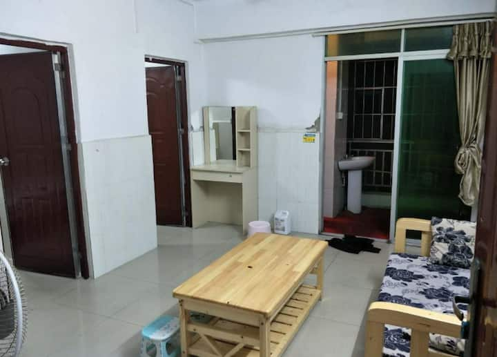 new! Two bedroom one bathroom standard apartment
