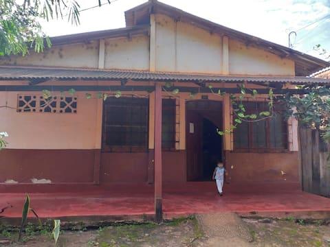 Habitación en la naturaleza amazónica