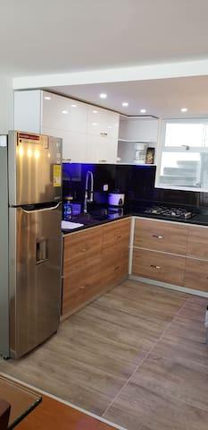 Alojamiento tipo hotel 5 diamantes en Duplex nuevo