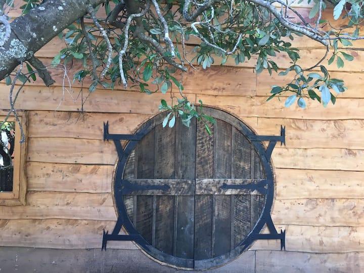 The Chauquen's hobbit house