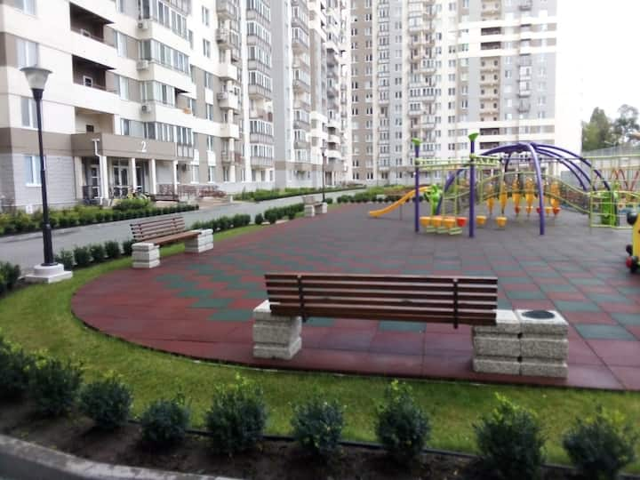 One-room apartment in  residential complex Altair