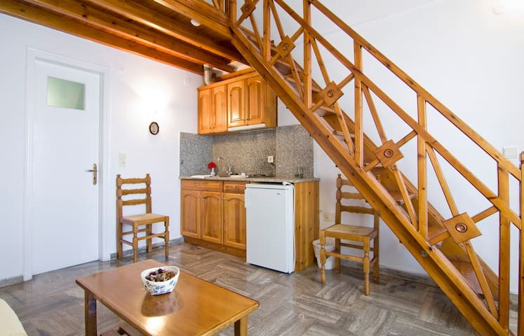 Double Studio in Karterados village - Karterados - Appartement