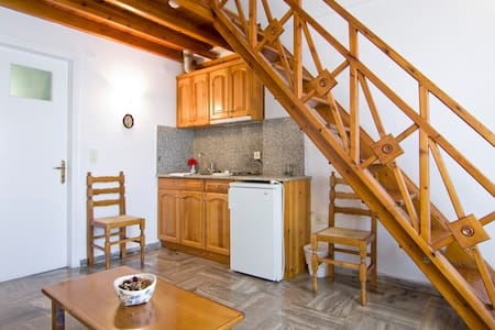 Double Studio in Karterados village - Karterados - Daire