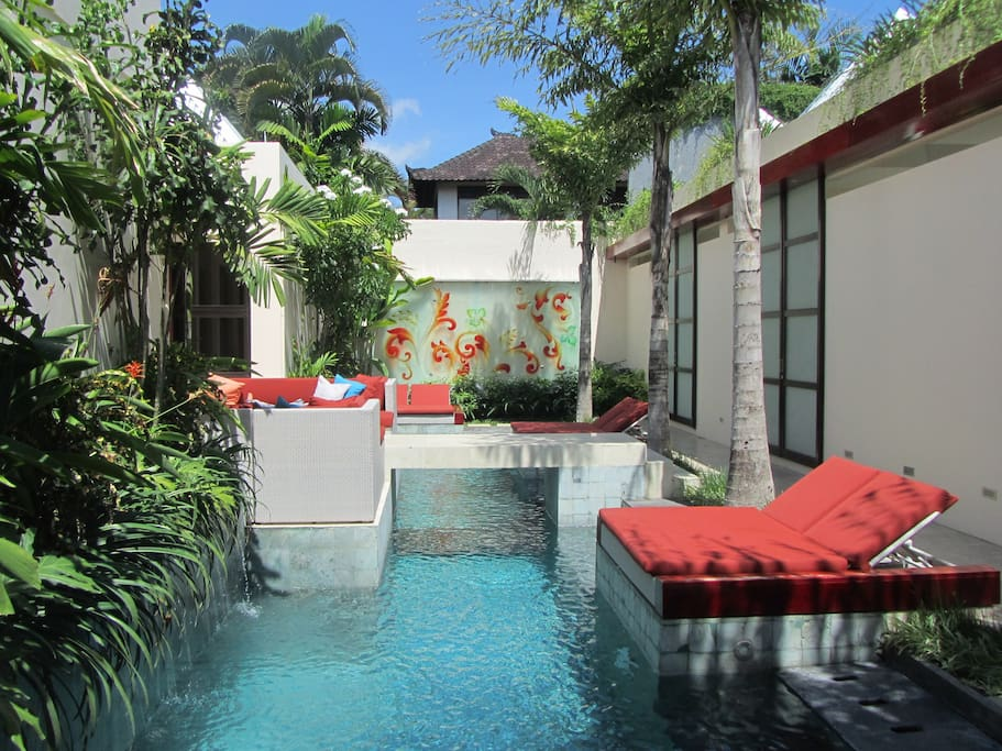 Ginger Swimming Pool is for the enjoyment of all guests staying at Bali Ginger Suites or at Shikumen Villa & Suite
