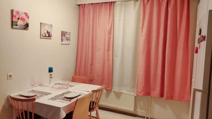 Cozy, nice, clean room in Sarkiniemi, Kuopio.