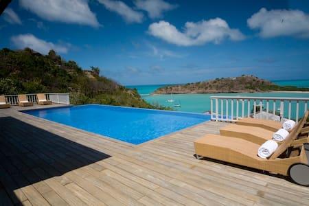 Luxury Caribbean sea-view villa  - Antigua - วิลล่า