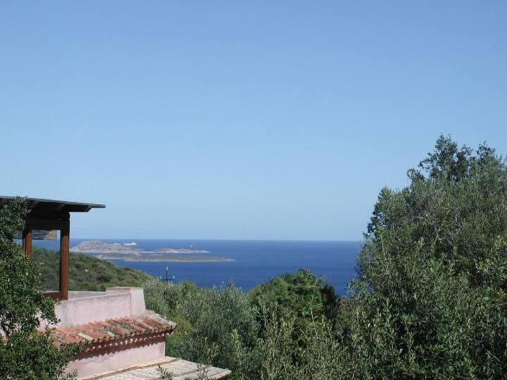 Casa Vacanze vista mare Costa Smeralda 6 persone