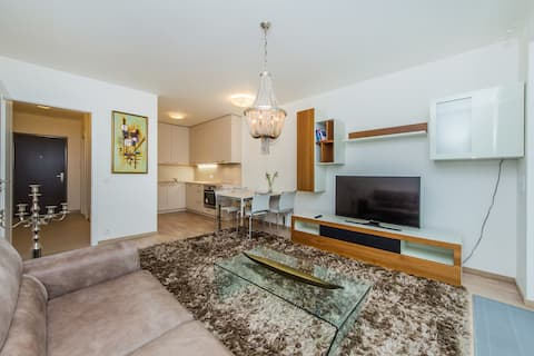 luxury and brand new apartment with parking!!!