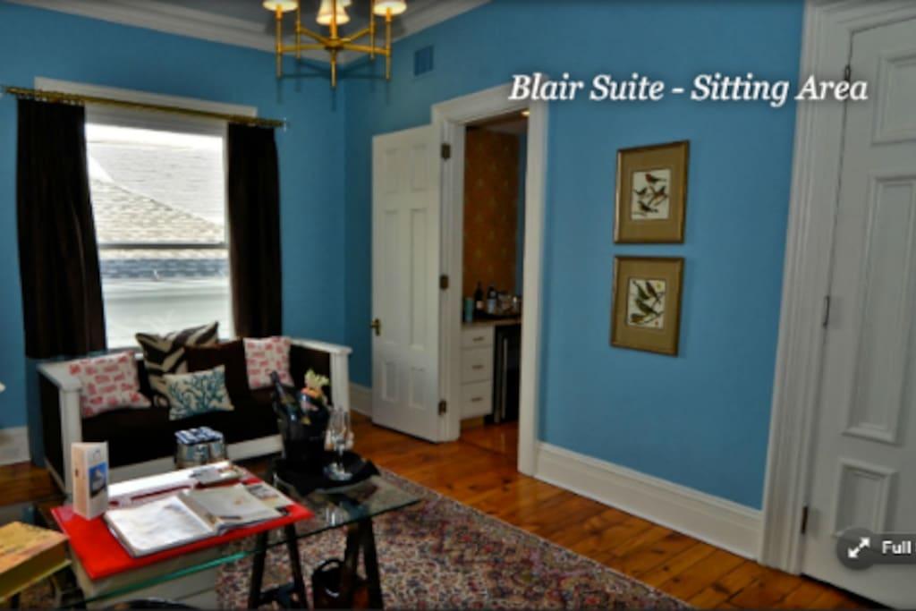 Blair Suite Sitting Room