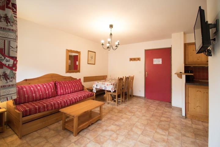 BONA65 - Spacious apartment near the slopes