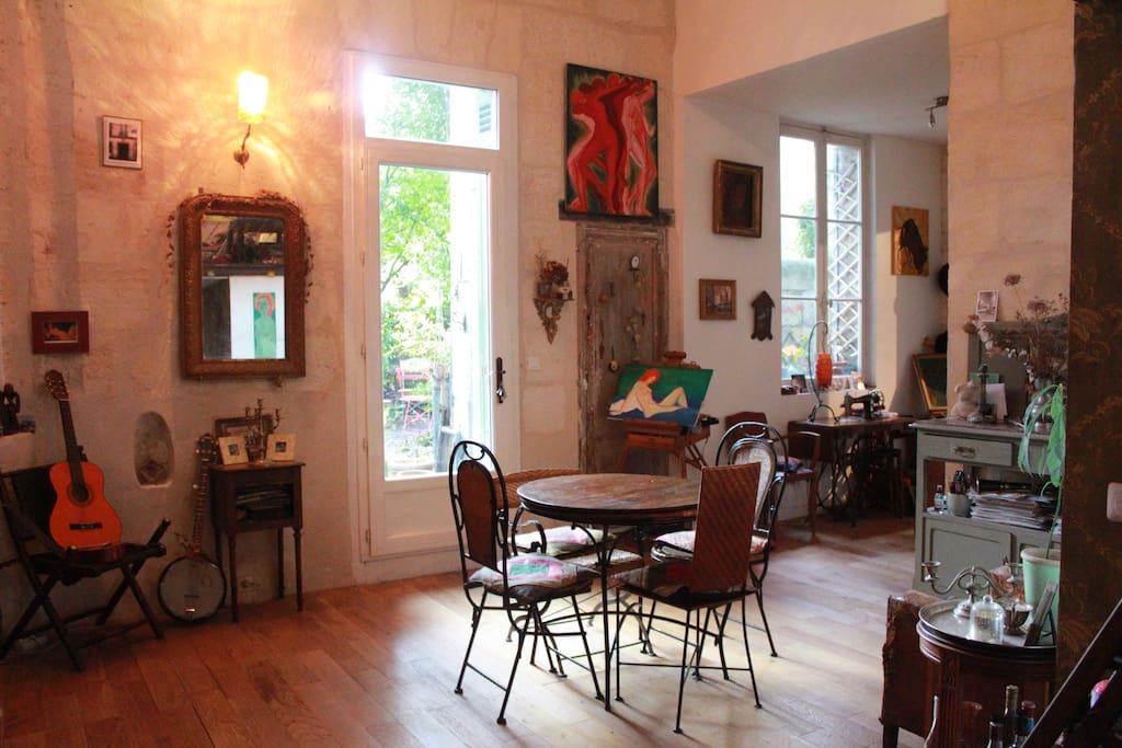 Chambre sdb privatives acc s jardin appartements for Appartement jardin bordeaux location