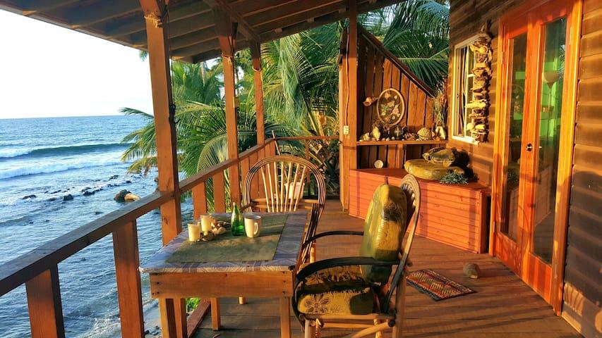 Ginger's Oceanfront Beach House on Bastimentos