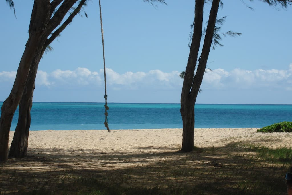 Driftwood Hideaway walk to #1 Beach - Waimanalo Beach의 방갈로에서 살아보기 ...
