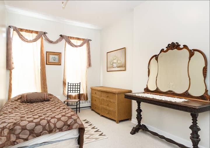 A huge bedroom in Harlem