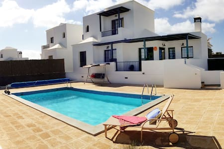 Villa with private heated pool - Playa Blanca - Villa
