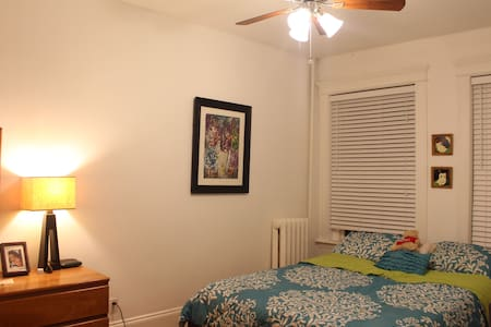 Cozy But No Clutter! Right by the T - Brookline - Condominium