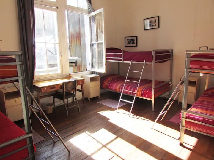 Confortable 8 Bed Shared Mixed Dorm in Valparaíso