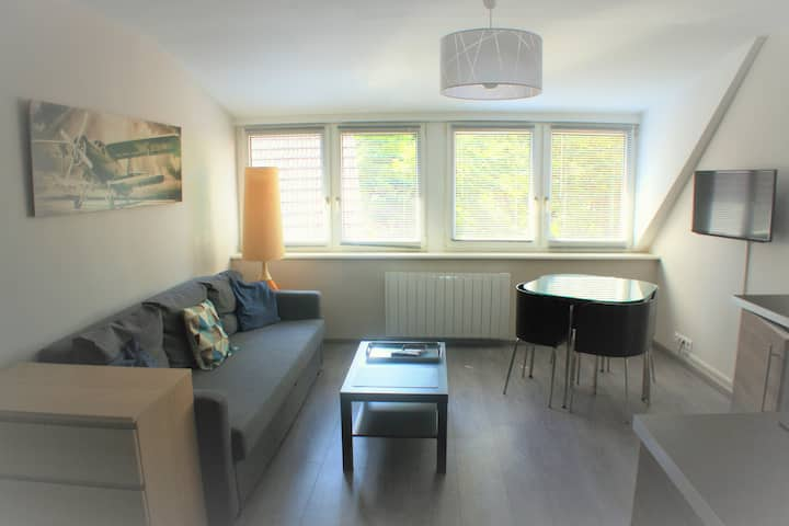 Studio 30 m², centre ville avec parking