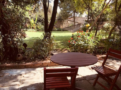 Room in  beautiful villa + big garden