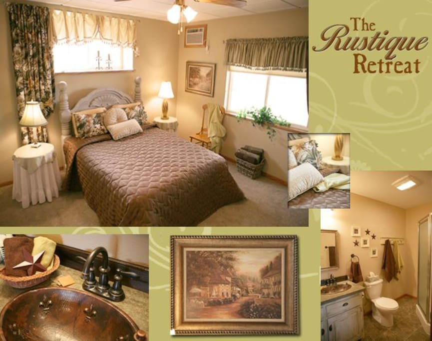 Rustique Retreat. French country comfort.