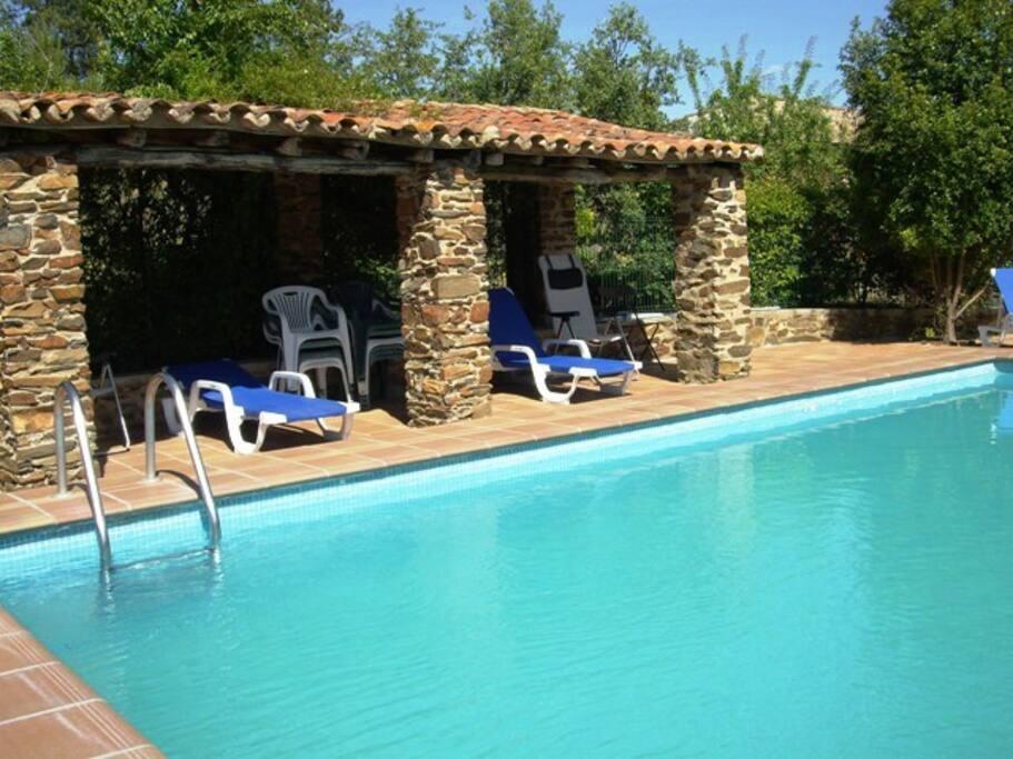 El olivo caba a piscina clientes jardin privado casas for Piscina jardin valencia