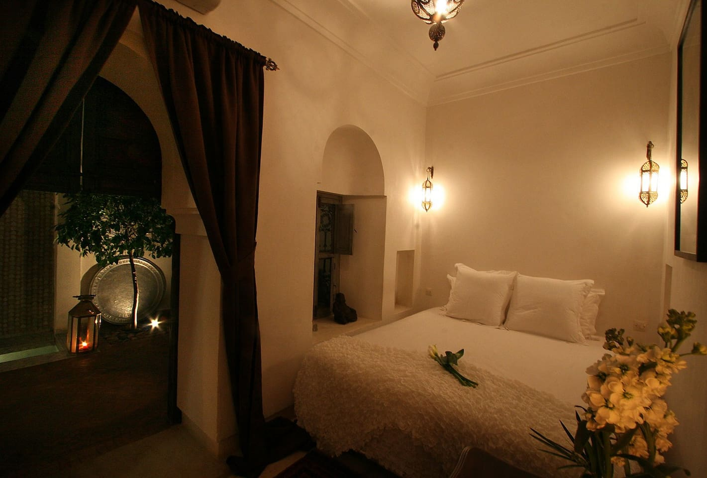Chambre Patio Riad Dar Thania