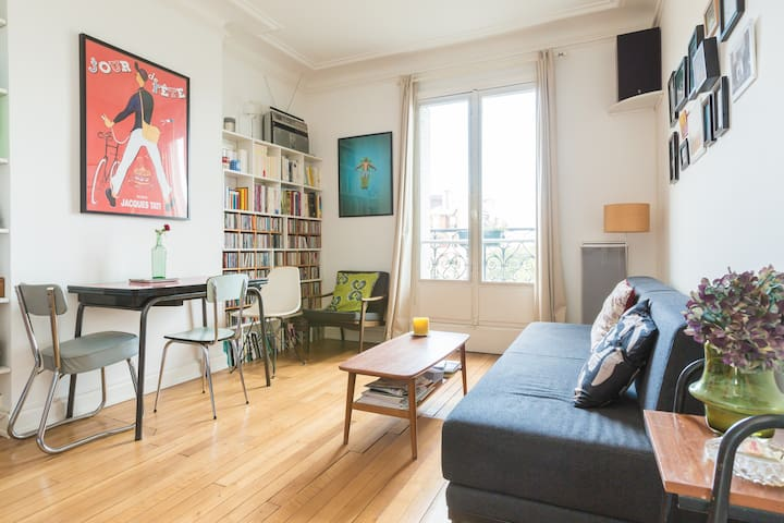 Bright apartment near Bastille 65m2 - Paris - Apartment