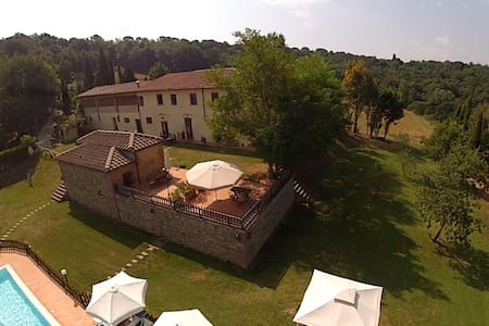 Farmhouse with pool - Apt 6 guest - Barberino Val d'Elsa