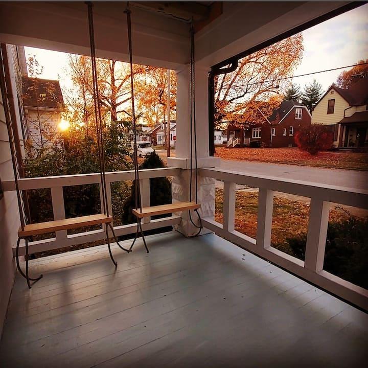 Harmony Home Duplex Studio for contract travelers