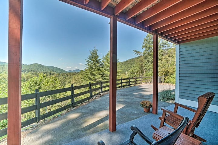 NEW! Remodeled Apartment w/ Scenic Views & Patio!